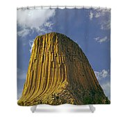 Devil's Tower 4 Shower Curtain