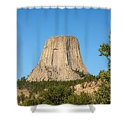 Devils Tower Shower Curtain