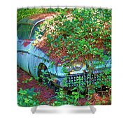 Devine Two Shower Curtain