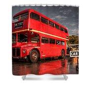 Devon Routemaster  Shower Curtain