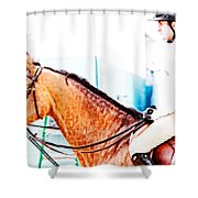 Devon Waiting Shower Curtain