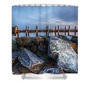Dewey Beach Delaware Shower Curtain
