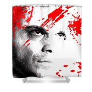 Dexter Dreaming Shower Curtain