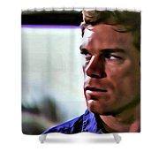 Dexter Morgan Shower Curtain