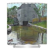 Dexter's Grist Mill - Cape Cod Shower Curtain