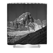 1m3728-bw-diadem Peak Shower Curtain