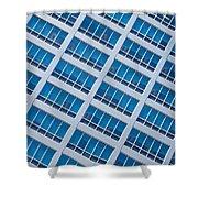 Diagonal View Shower Curtain