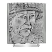 Diamond Jubilee Queen  Shower Curtain