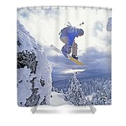 Diamond Peak, Lake Tahoe, Nevada, Usa Shower Curtain