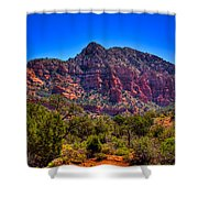 Diamondback Gulch Near Sedona Arizona Viii Shower Curtain