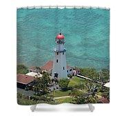 Diamondhead Lighthouse Shower Curtain