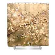 Diamonds And Pearls Shower Curtain