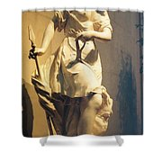 Diana Goddess Of The Hunt Shower Curtain