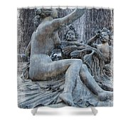 Diana Roman Goddess Of The Moon Shower Curtain