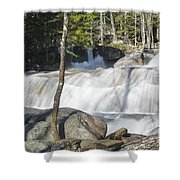 Dianas Bath - North Conway New Hampshire Usa Shower Curtain by Erin Paul Donovan