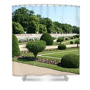 Diane De Poitiers' Gardens Shower Curtain