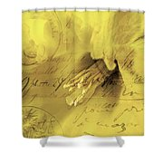 Diary Of A Buttercup Soft Shower Curtain