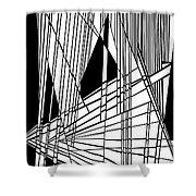 Diatribe Shower Curtain