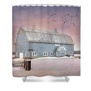 Dickey Hill Farm Shower Curtain
