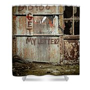 Did You Get My Letter? Shower Curtain