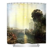 Dido Building Carthage Shower Curtain