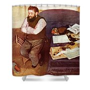 Diego Martelli  Shower Curtain