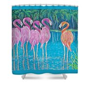 Different But Alike Shower Curtain