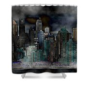Differentiate New York City Shower Curtain