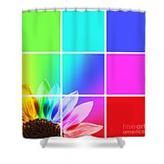 Diffraction Of Light Shower Curtain