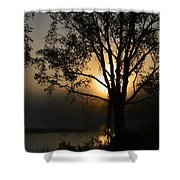 Diffused Glow Shower Curtain