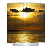 Diffused Light Shower Curtain