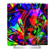 Digital Art-a11 Shower Curtain