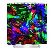 Digital Art-a12 Shower Curtain