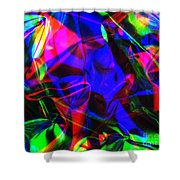 Digital Art-a13 Shower Curtain