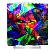 Digital Art-a14 Shower Curtain