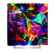 Digital Art-a15 Shower Curtain