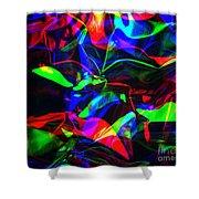 Digital Art-a16 Shower Curtain