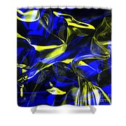 Digital Art-a18 Shower Curtain