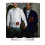 Digital Painting The Lettermen Shower Curtain