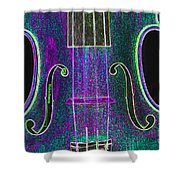 Digital Photograph Of A Viola Violin Middle 3374.03 Shower Curtain