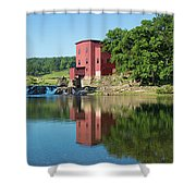 Dillard Mill At Dillard Mill State Shower Curtain