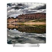 Dillon Reflections Shower Curtain