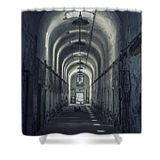 Dimensions Of Darkness Shower Curtain