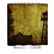 Diminished Dawn Shower Curtain