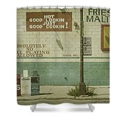 Diner Rules Shower Curtain by Andrew Paranavitana