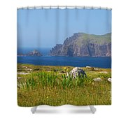 Dingle Coast Shower Curtain