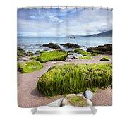 Dingle Coastline Shower Curtain