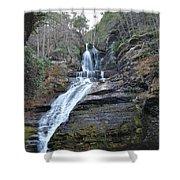Dingman Falls Shower Curtain