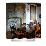 Dining At Donegal Castle Shower Curtain