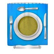 Dinner Setting 05 Shower Curtain